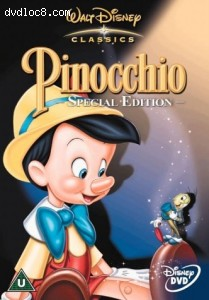 Pinocchio : Special Edition Cover