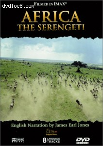 IMAX: Africa: The Serengeti Cover