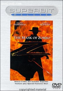 Mask Of Zorro, The (Superbit Deluxe) Cover