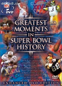Greatest Moments in Super Bowl History Cover