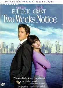 Two Weeks Notice (Widescreen)