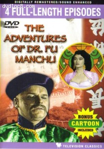 Adventures of Dr. Fu Manchu, The Cover