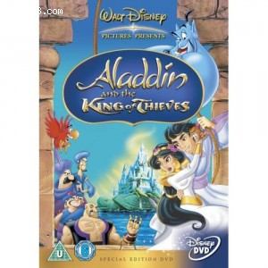 Aladdin and the King of Thieves Cover