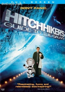 Hitchhiker's Guide To The Galaxy, The (Fullscreen) Cover
