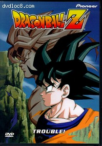 Dragon Ball Z: Trouble! Cover