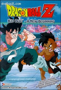 Dragon Ball Z: Kid Buu - A New Beginning Cover