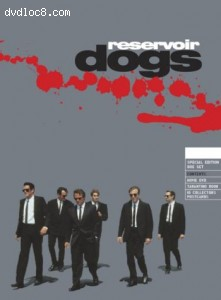 Reservoir Dogs Limited Edition DVD Box Set Cover