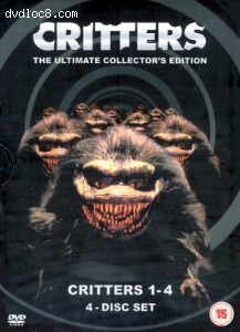 Critters 1-4 Ultimate Box Set