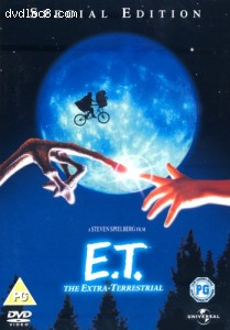 E.T. The Extra-Terrestrial: Special Edition Cover