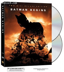 Batman Begins (Widescreen) (2-Disc Deluxe Edition) Cover