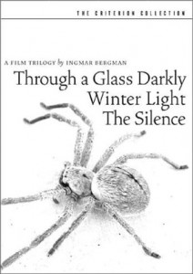 Film Trilogy by Ingmar Bergman, A - Criterion Collection (Through a Glass Darkly/Winter Light/The Silence) Cover