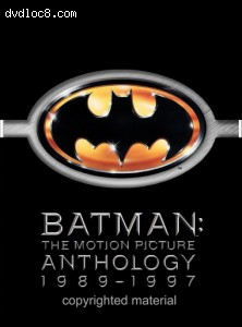 Batman - The Motion Picture Anthology