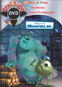 Monsters, Inc. Disney Read-Along Cover