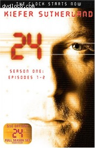 24 - TV Starter Set (Season 1, Episodes 1-2) Cover
