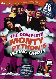 Complete Monty Python's Flying Circus 16, The-Ton Megaset