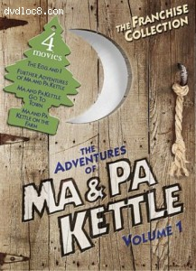 Adventures of Ma & Pa Kettle, The - Volume 1 Cover