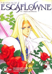 Escaflowne-Volume 3: Angels and Demons Cover