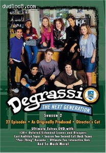 Degrassi The Next Generation - Season 2 Cover