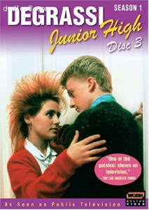 Degrassi Junior High: Season 1, Disc 3 Cover