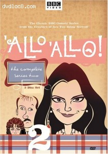 'Allo 'Allo - The Complete Series Two Cover