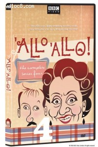 'Allo, 'Allo! Complete Series Four Cover