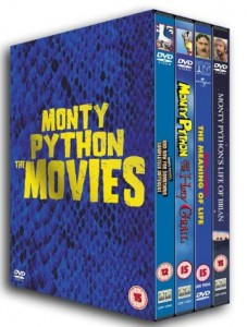 Monty Python: The Movies Cover