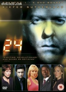 24: Seasons 1 - 4 Cover