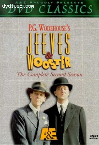 Jeeves & Wooster - The Complete 2nd Season Cover