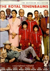 Royal Tenenbaums, The - The Criterion Collection Cover