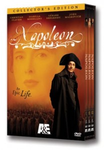 Napoleon (TV Miniseries) (3-Disc Collector's Edition) Cover