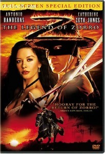 Legend of Zorro, The (Fullscreen) Cover
