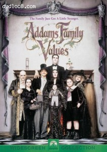 Addams Family Values-Widescreen Collection Cover