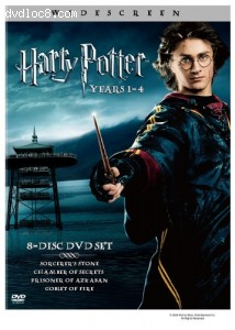 Harry Potter Years 1-4  (Widescreen Edition) Cover