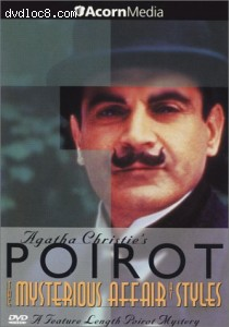 Poirot - The Mysterious Affair at Styles Cover