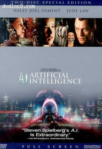 A.I. Artificial Intelligence (Full Frame) Cover