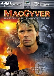 MacGyver - The Complete Sixth Season Cover