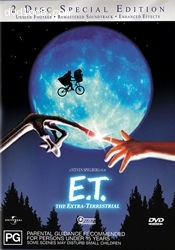E.T. The Extra-Terrestrial: 20th Anniversary Special Edition Cover