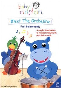 Baby Einstein Meet The Orchestra First Instruments Dvd