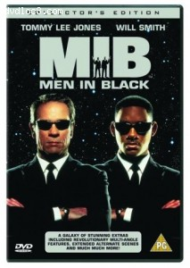 Men In Black Collector's Edition (1997) Cover