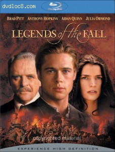 Legends Of The Fall [Blu-ray] Cover
