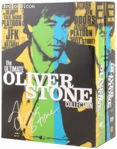 Ultimate Oliver Stone Collection, The Cover