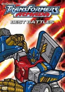 Transformers Armada: Best Battles Cover