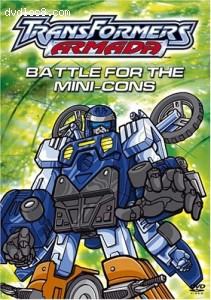Transformers Armada: Battle for the Mini-Cons Cover