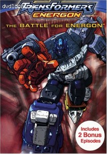 Transformers Energon: The Battle for Energon Cover