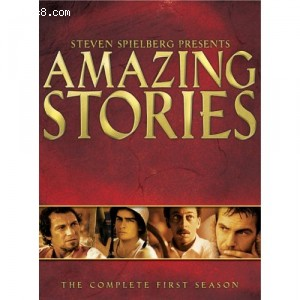 Amazing Stories - The Complete 1st Season Cover