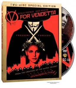V for Vendetta (Widescreen Two-Disc Special Edition) Cover