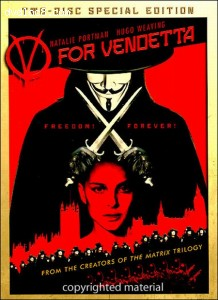 V for Vendetta (Two-Disc Collector's Edition w/ Mask) Cover