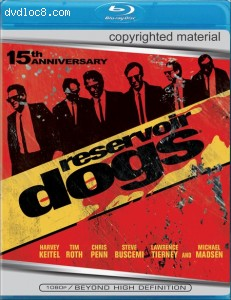 Reservoir Dogs [Blu-ray] Cover