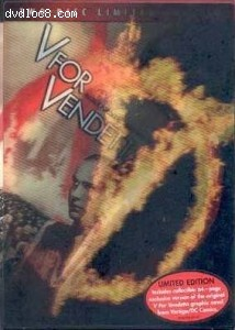 V for Vendetta (Two-Disc Limited Edition) Cover