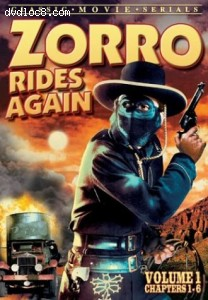 Zorro Rides Again: Volume 1 (Chapters 1-6) Cover